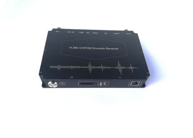 Full HD 1080P COFDM Video Receiver For Firefighting SDI/HDMI/CVBS Output
